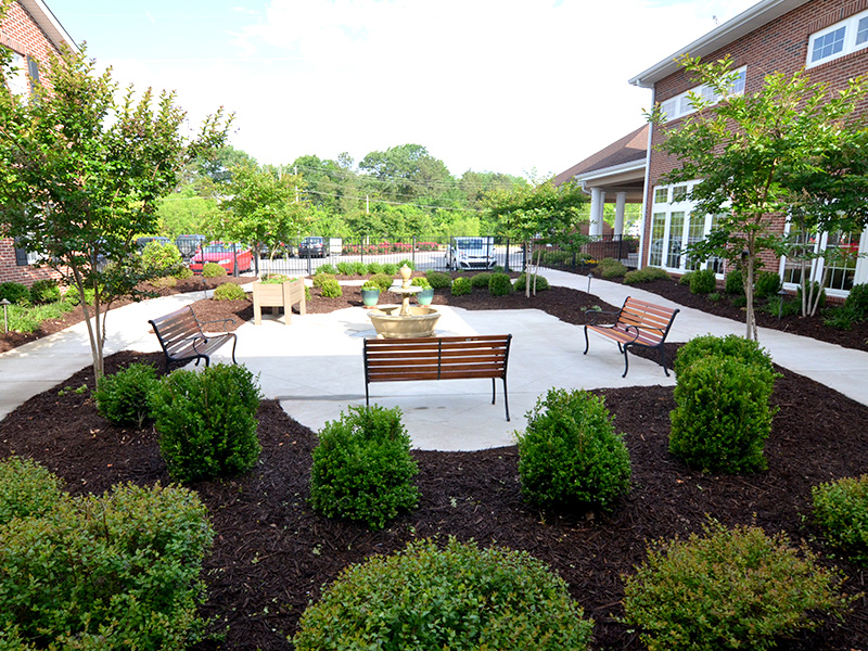 Chattanooga Retirement Living Amenities Rosewood