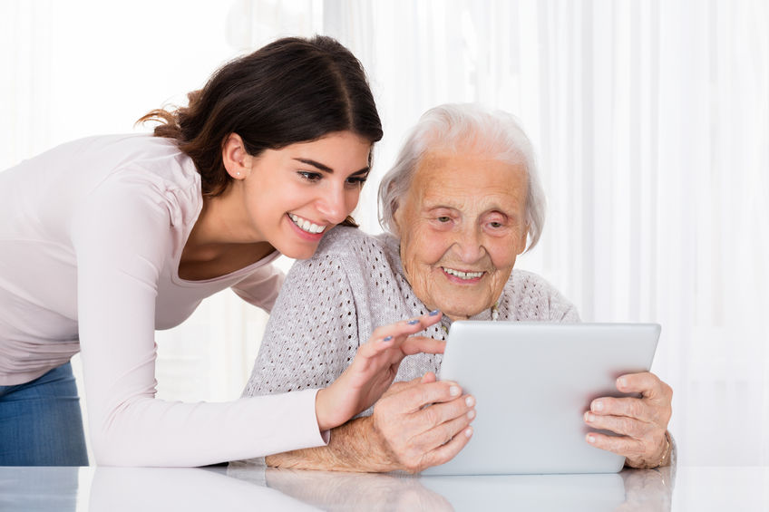 Our memory care services at Regency Chattanooga incorporate technology thorough iN2L, as well as music therapy and pet therapy for a well rounded approach for our residents.